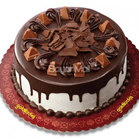 "Royal Fudge Cake with Toblerone 8"" Round - Goldilocks"