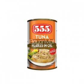 555 Tuna Flakes in Oil 155g