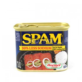 Spam 30% Less Sodium Hormel Foods 340g