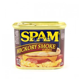 Spam Hormel foods hickory smoke 340g