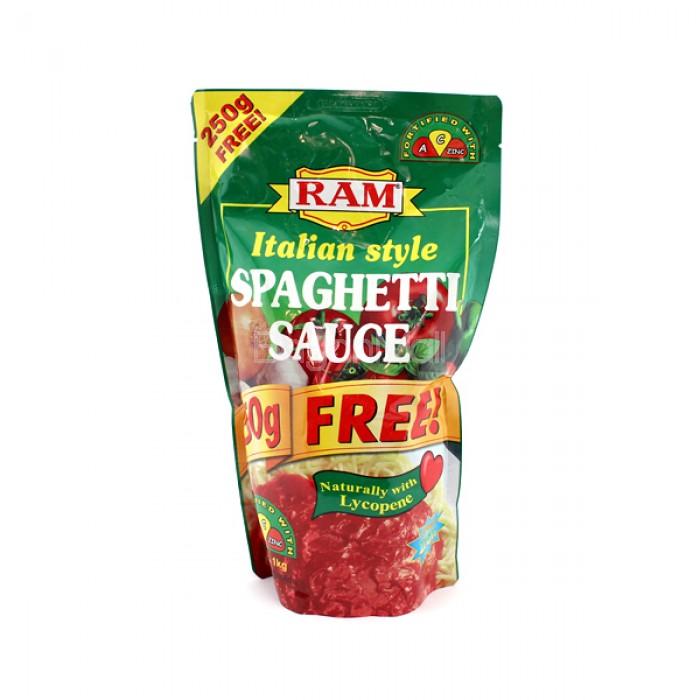 Ram Italian Style Spaghetti Sauce Net Wt 1kg