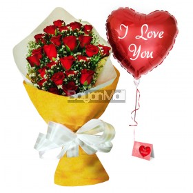 24 Red Roses Premium Bouquet - Greatest Love