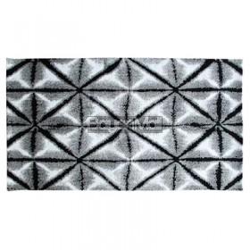 AWM-12945 V1 Kerchied Black and Grey 80 x 150 cm