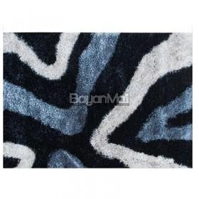 AWM-4786 V1 Black and Grey Carpet 80 x 150 cm