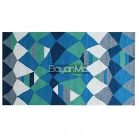 AWM-5471 V1 Blue Ditzy  Rug 80 x 150 cm