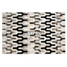 LM-251A COWHIDE LEATHER RUG