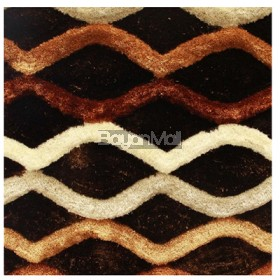 SD027-07 BEIGE MESH DESIGN CARPET 120 x 170 cm