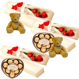 3pc Roses Packages