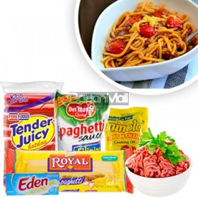 Spaghetti Ingredients