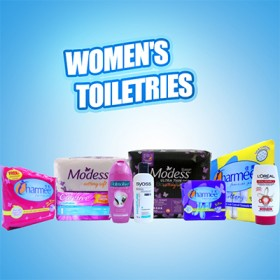 Women's Toiletries