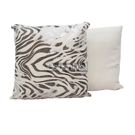 H539B SILVER WAVES THROW PILLOW