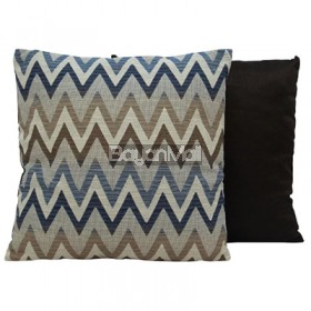 JNY14358 BEIGE ZIGZAG PILLOWS