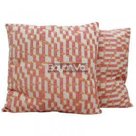 JNY14517 PINK GEOMETRIC PILLOW