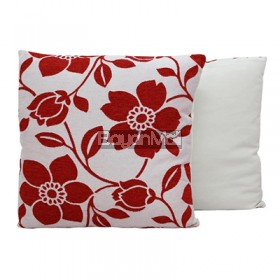 JNY14517 RED FLOWERS THROW PILLOWS