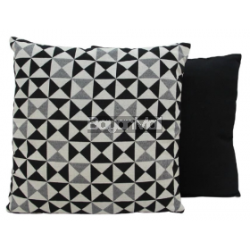 JNY14578 BLACK TRIANGULAR PILLOWS