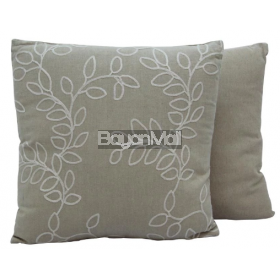 JNY14595 BEIGE EMBROIDERY PILLOWS