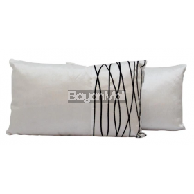 Q1037 WHITE KIDNEY PILLOW