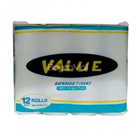 Value Bathroom Tissue 12 Rolls