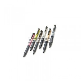 Ballpen Uni Sn201Pt Power Tank 07 Asstd Color Barrel Rt