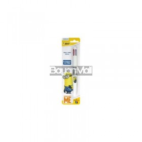 Minions Ballpen Bic 4 Colors Retractable 41601084