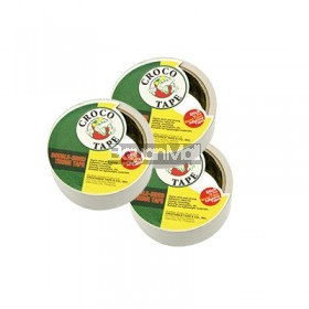 3pcs Crocodile Double Sided Tape Tissue Type