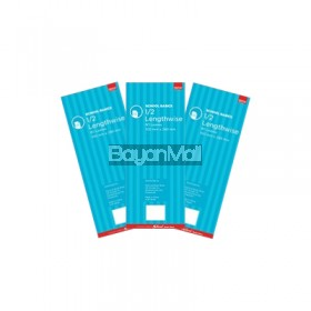 3 Pcs Pad Lenghtwise Premium 80lvs 2S School Basics