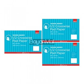 Pad Grade 4 Premium 80lvs School Basics