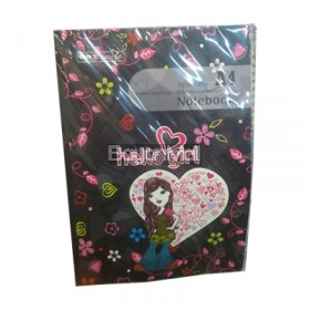 A4 Notebook hello girl 100sheets