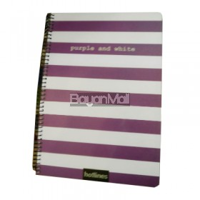 Hotlines Purple and white 80sheets