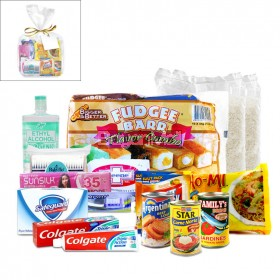 Package For Charity No. 3 ( Food, Beverage and Toiletries )
