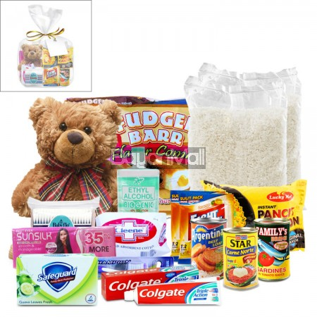 Charity Package For Kids No. 3 ( Food, Beverage, Toiletries and Toy )