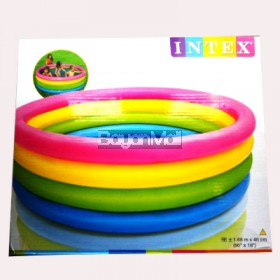 Intex Inflatable Swimming Pool  Rainbow 66x18 Circle