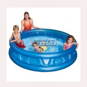 Intex Inflatable Swimming Pool  Blue Size: 74x18