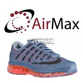 7 ½ Air Max Gray Orange