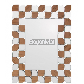 JW0003 LEAF RECTANGULAR MIRROR