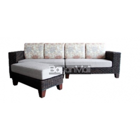 MANDAUE SOFA SET NED ABACA L-SHAPE