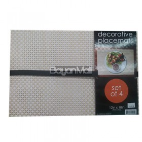 Decorative Placemats 30cmx45cm Set of 4