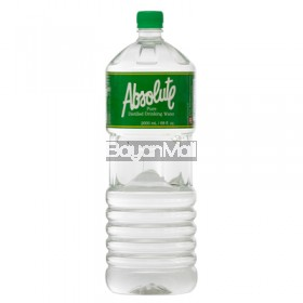 Absolute Distilled Drinking Water (2L)