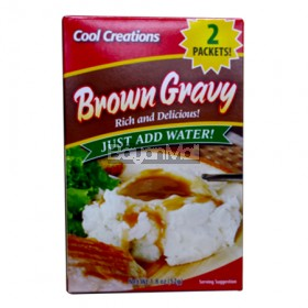Cool Creations Brown Gravy Rich and Delicious (2 Paackets) 520g