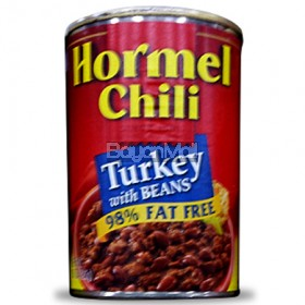Hormel Chili Turkey with Beans (98% Fat Free) 425g