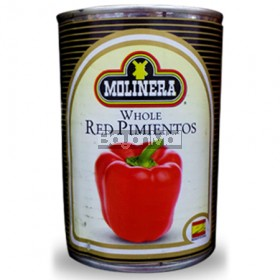 Molinera Whole Red Pimientos 185g