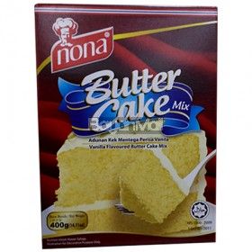 Nona Butter Cake Mix (Vanilla Flavoured Butter Cake Mix) 400g