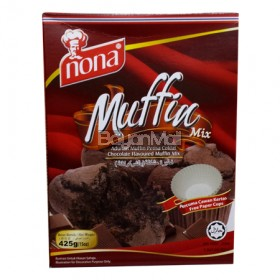 Nona Muffin Mix (Chocolate Flavoured Muffin Mix) 425g