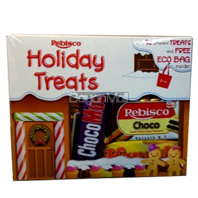 Rebisco Holiday Treats with 20 Different Treats and free Eco Bag Inside 437.5g