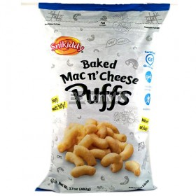 Snikiddy Baked Mac and Cheese Puffs 482g
