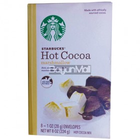 Starbucks Hot Cocoa Marshmallow Rich, Velvety Cocoa With Fluffy Marshmallow Minis (8 Envelopes) 224g