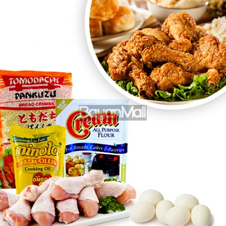Crispy Fried Chicken Ingredients