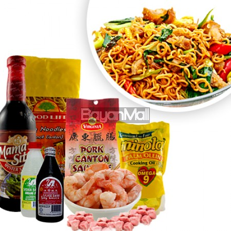 Pancit Canton Ingredients
