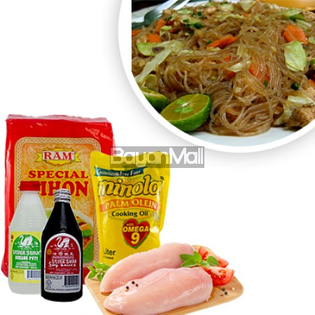 Pansit Bihon Ingredients