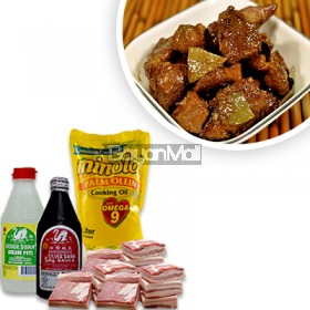 Pork Adobo Ingredients